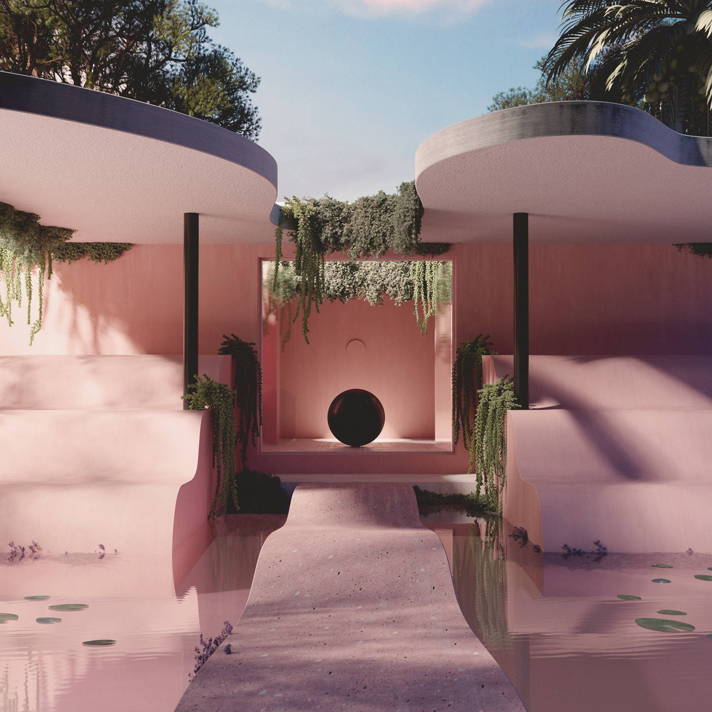 Andrés Reisinger Summer House, Spain —2019