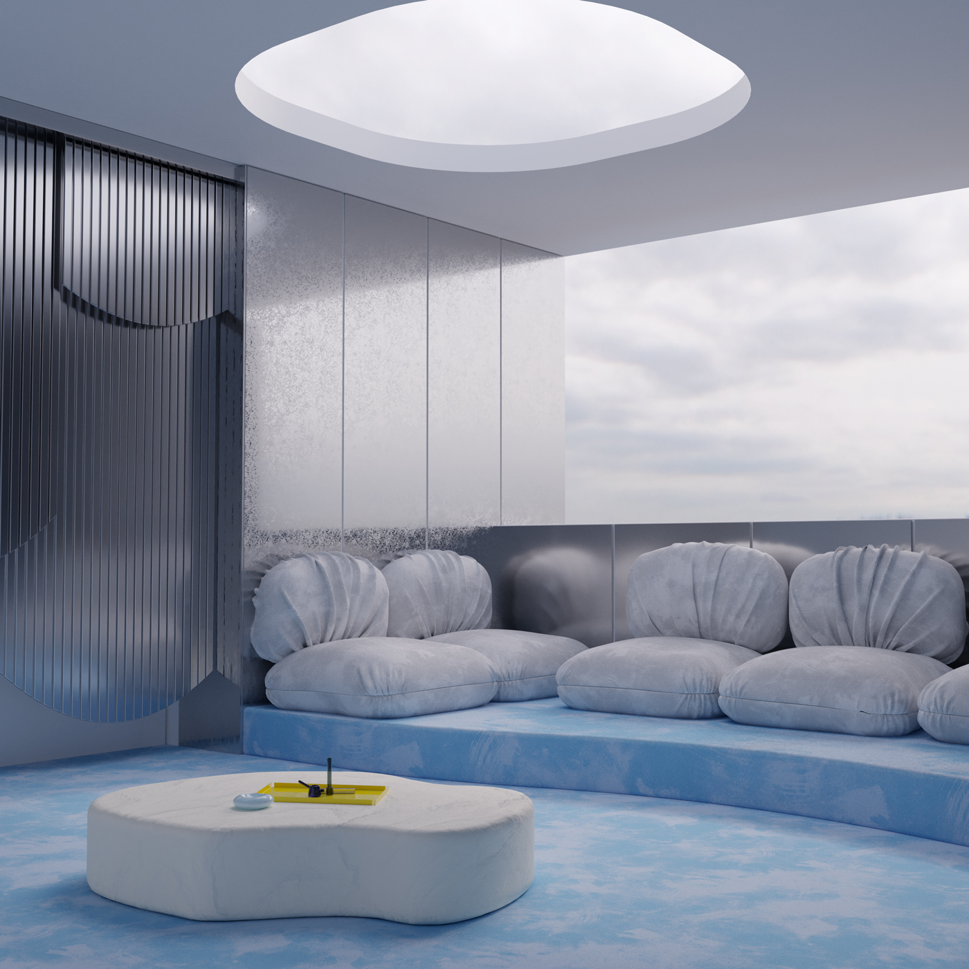 Andrés Reisinger Tetra Rooms —2019