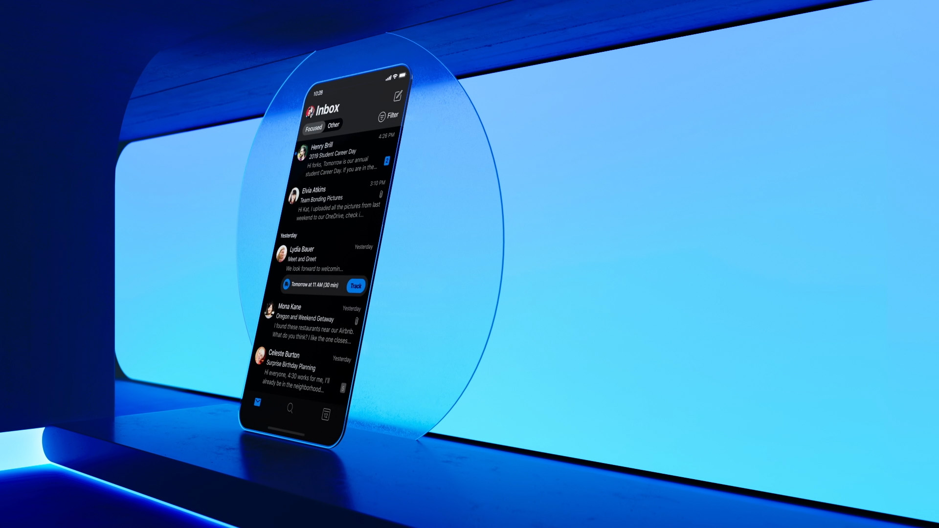 Microsoft — Dark Mode