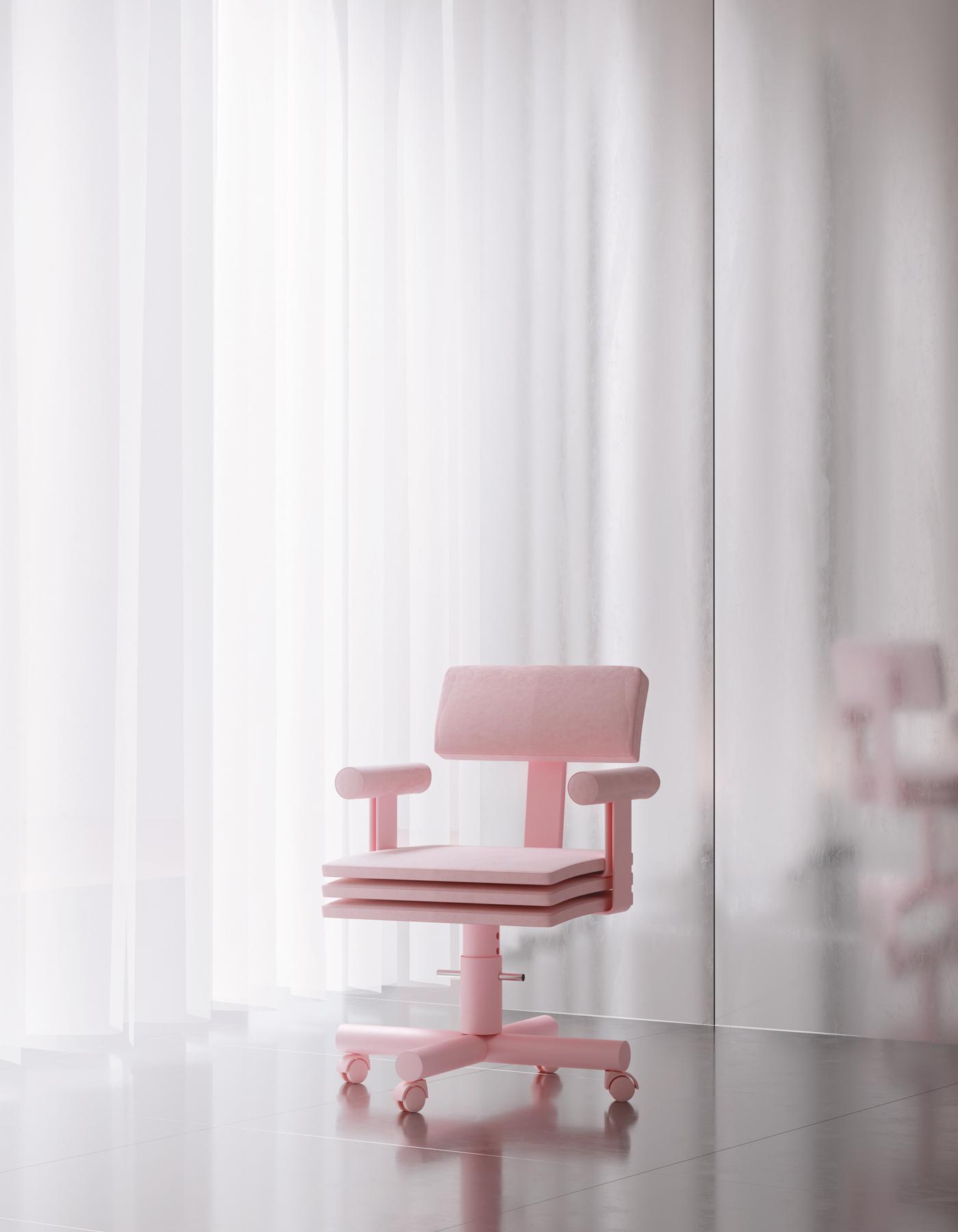 Andrés Reisinger ABBA Chair —2019
